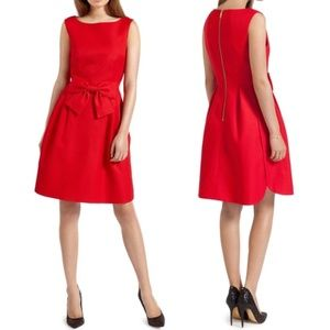 Ted Baker Nuhad Red Bow Dress